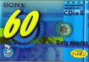 SONY CDix II 60 Jp 1999