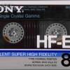 SONY HF-ES 80 Jp 1986-87