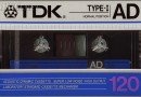TDK AD 120 Eu 1986