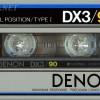 Denon DX3 90 1982-83