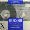 Maxell MX 110 US Eu 1990-92