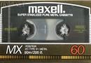 Maxell MX 60 US 1986-87