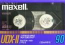 Maxell UDX-II 90 US 1986-87