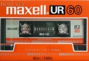 Maxell UR 60 Eu 1986-87