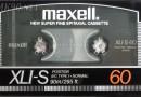 Maxell XLI-S 60 US 1986-87