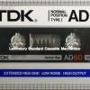 TDK AD 60 Eu 1984-85