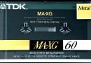 TDK MA-XG 60 Eu 1990-91