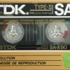 TDK SA-X 90 US 1987