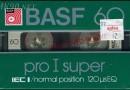 Basf Pro I Super 60 US 1982-84