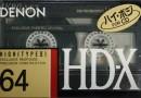 Denon HD-X 64 Jp 1989