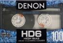 Denon HD6 100 US Eu 1990-91