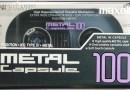 Maxell Capsule Metal 100 Jp 1990-91