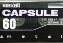 Maxell Capsule Metal 60 US 1996-97