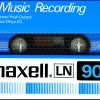 Maxell LN 90 For Music Recording Eu 1980-82