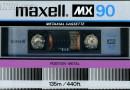 Maxell MX 90 Eu US 1982-84
