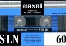 Maxell S-LN 60 Eu 1990-91