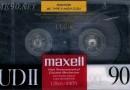 Maxell UDII 90 US 1988-89
