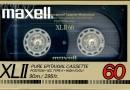 Maxell XLII 60 US 1986-87