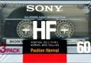 Sony HF 60 a Eu 1988-89