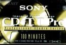 Sony CD-IT Pro 100 US 1992-94 v. C-100 CDP2