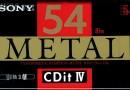 Sony CDit IV 54 Eu 1990-92