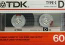 TDK D 60 Eu 1986-87