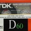 TDK D 60 US 1988