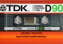 TDK D 90 US 1985-86