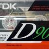 TDK D 90 Eu 1990-91