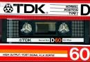 TDK D 60 US 1986-87