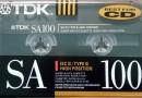 TDK SA 100 US 1990