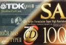 TDK SA 100 US 1992-97
