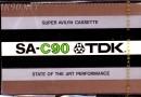 TDK SA 90 US Eu 1975-78