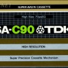 TDK SA 90 US Eu 1979-81