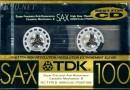 TDK SA-X 100 US 1989