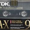 TDK SA-X 90 Eu 1990-91