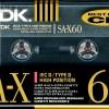 TDK SA-X 60 US 1990-91