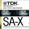 TDK SA-X 60 US 1988 v. n