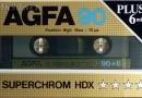 Agfa SuperChrom HDX 90 1985-86