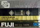 Fuji Metal Tape 90 US-Eu 1980-81