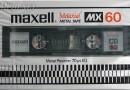Maxell MX 60 Jp 1980-82