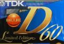 TDK D 60 Eu 1995-97