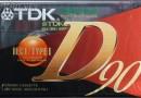 TDK D 90 Eu 1995-97