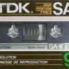 TDK SA-X 90 US 1985-86
