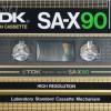 TDK SA-X 90 US-Eu 1982-84