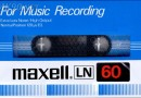 Maxell LN 60 For Music Recording Eu 1980-82
