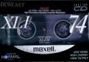 Maxell XLI 74 Jp 1990-91