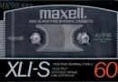 Maxell XLI-S 60 Jp 1986-87