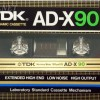 TDK AD-X 90 US 1982