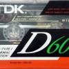 TDK D 60 US 1991